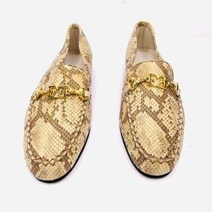 ESCADA Vintage Color Chameleons Car Loafer Flats